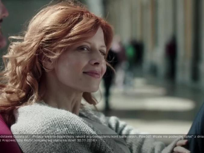 Karolina Gruszka reklamuje Credit Agricole