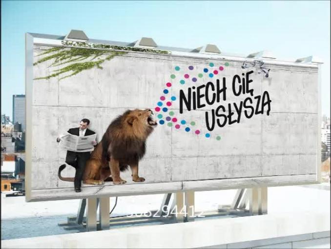 Netia reklamuje internet stacjonarny dla małych firm