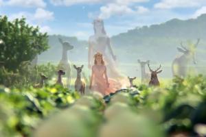 Opowieść dębu o miłości Matki Natury w reklamie zup Hortex