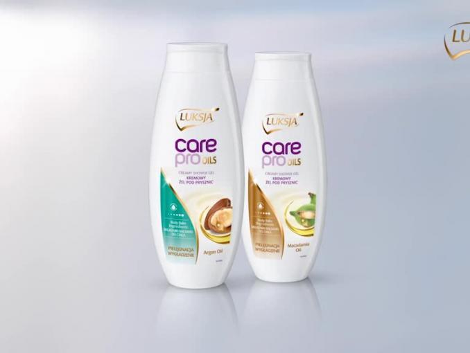 Luksja Care Pro Oils: Twoja skóra to pokocha