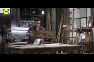 Szlifierka i wiertarko-wkrętarka w Lidlu - reklama