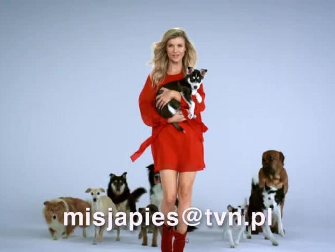 """""""Misja pies"""" - Joanna Krupa zachęca zaprasza na castingi"""