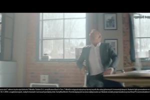 Bogusław Linda śpiewa i tańczy w reklamie T-Mobile dla Firm
