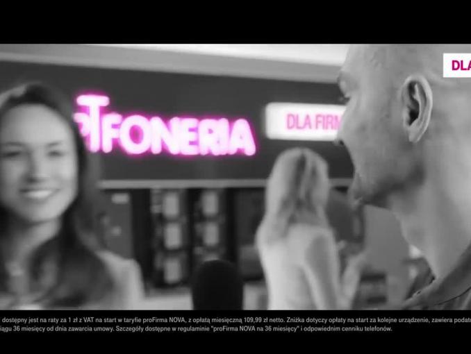 Smartfoneria dla firm w T-Mobile - reklama
