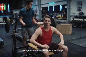 mOkazje w mBanku reklamowane na siłowni