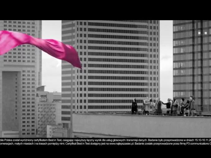 Bogusław Linda reklamuje 20 GB internetu gratis w T-Mobile
