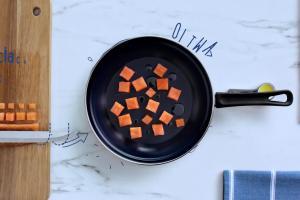 Lubella i 1000 pomysłów - Lubella i mężczyzna w kuchni