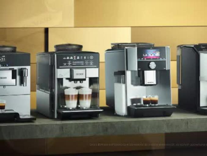 Najprostszy sposób na doskonałą kawę – automatyczne ekspresy marki Siemens