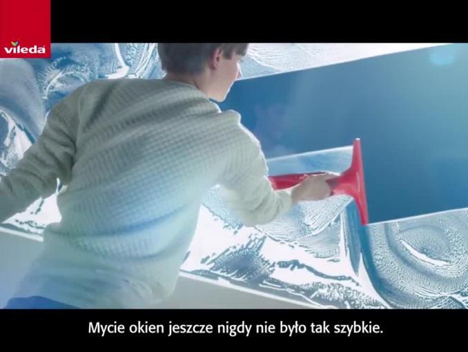 Czyste okna za jednym kliknięciem - reklama Windomatic od Viledy