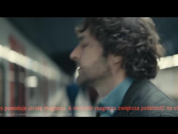 """Stresozaradni"" - reklama Magne-B6 Active"
