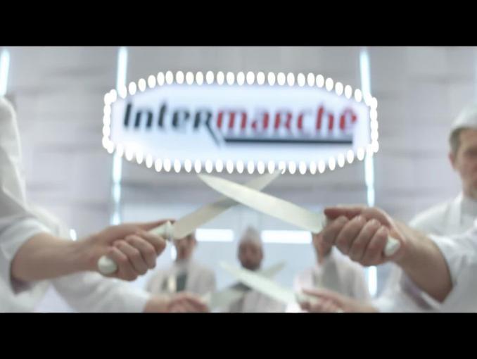Śpiewający kucharze w reklamie Intermarche