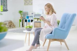 Katarzyna Bujakiewicz reklamuje kosmetyki Be Organic