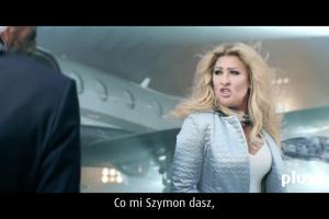 Beata Kozidrak z Szymonem Majewskim reklamują Konto Plus w Plus Banku