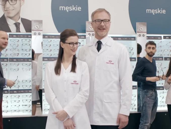Ryszard Rembiszewski reklamuje loterię Vision Express