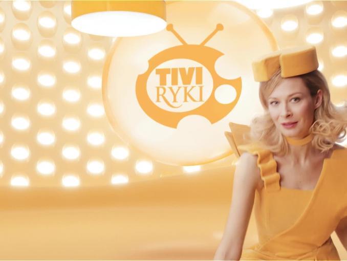 Tivi Ryki w reklamie serów od SM Ryki