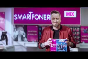 Piotr Kędzierski promuje Superbox w T-Mobile Mix