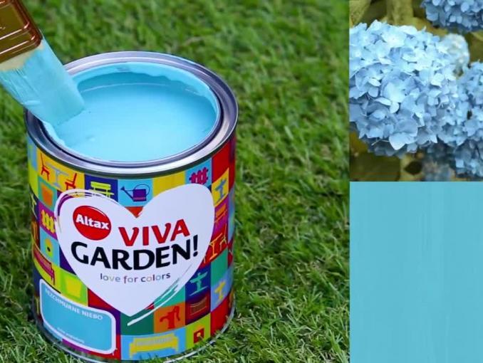 Reklama farb Altax Viva Garden!