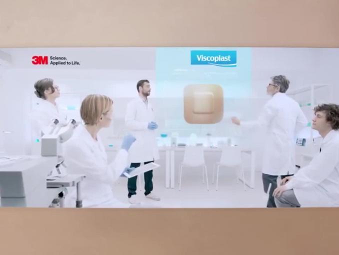 """""""Gdy wymagasz więcej"""" - reklama plastrów Viscoplast"""