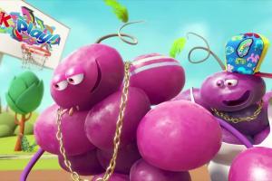 Pitahaya i winogrono koszykarzami w spocie Kubuś Play