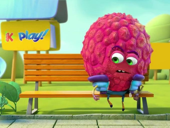 Kubuś Play - reklama z maliną i liczi