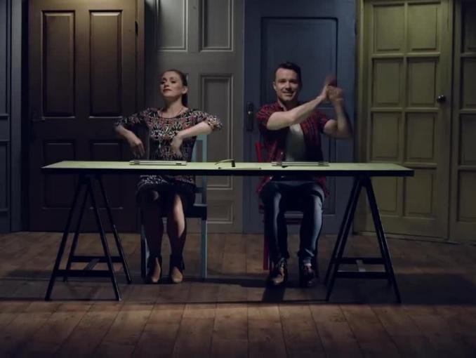 Kamil Bednarek śpiewa w reklamie laptopów HP