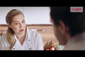 Małgorzata Socha kucharką w reklamie sklepów Agata