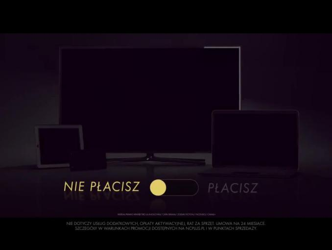 nc+ reklamuje internet elastyczny