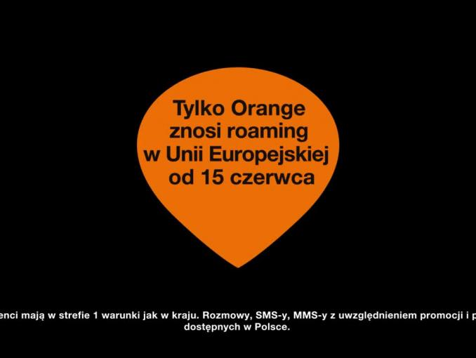 "Orange reklamuje, że ""znosi roaming"""