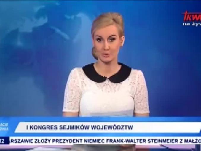 TV Trwam: Beata Szydło na I Kongresie Sejmików Województw (nieprawdziwa relacja)
