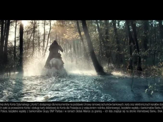 Robin Hood reklamuje Konto Optymalne w BGŻ BNP Paribas