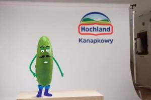Casting do serka reklamuje nowy Hochland Kanapkowy