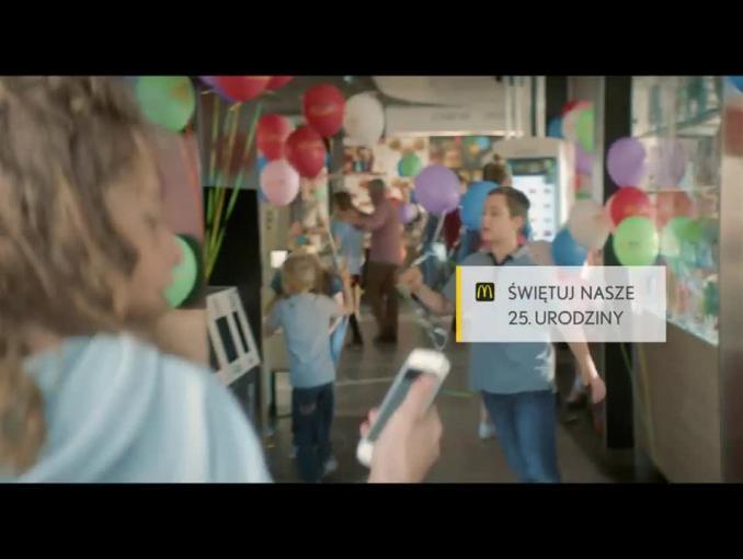 25. urodziny McDonald's - reklama