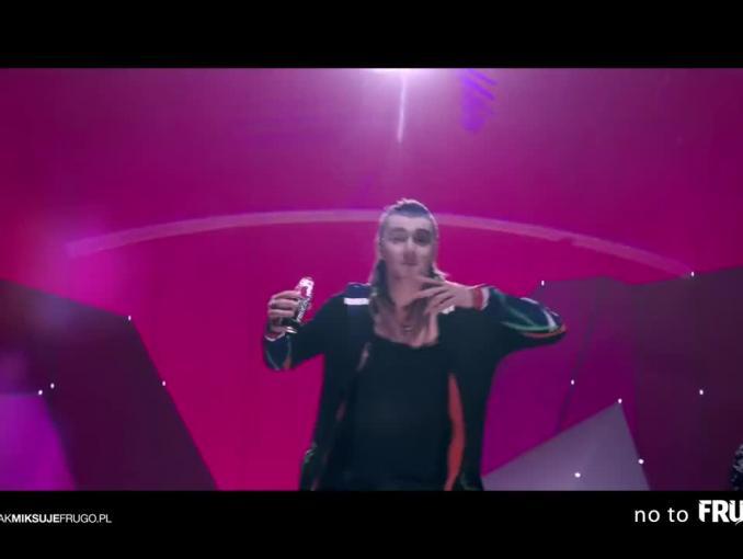 Kamil Bednarek reklamuje Frugo