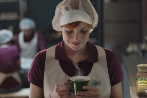 """""""Ten sam doskonały smak w nowej odsłonie"""" - reklama kawy Jacobs"""