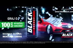 Loteria promująca napój Black Energy Drink