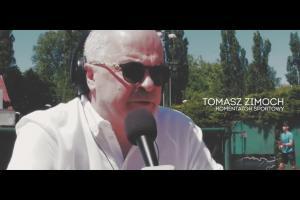 """Tomasz Zimoch promuje akcję """"Dzieciaki do rakiet"""" wspieraną przez BGŻ BNP Paribas"""