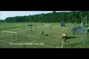 Zielona Kartka Carlsberga na Przystanku Woodstock - reklama z Jurkiem Owsiakiem