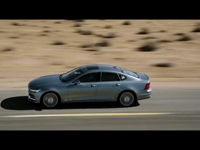Volvo S90 - reklama z Arkadiuszem Jakubikiem