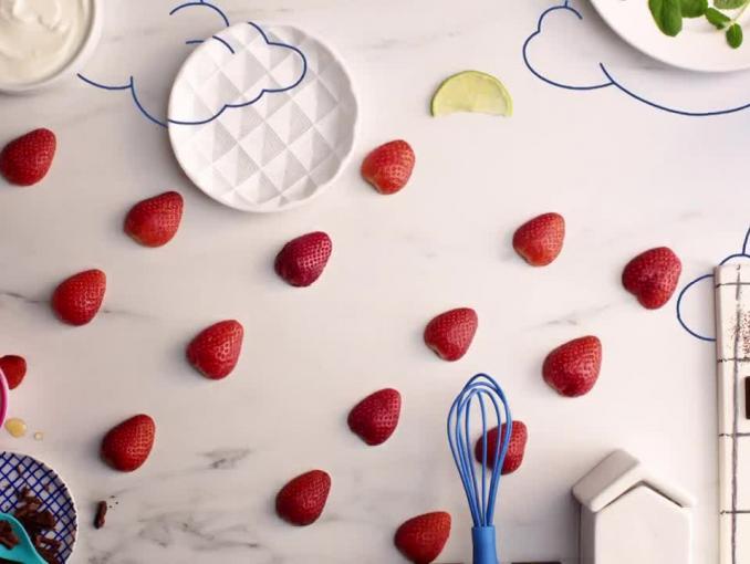 Pomysłowe dzieciaki reklamują makaron Lubella Mini Świderki
