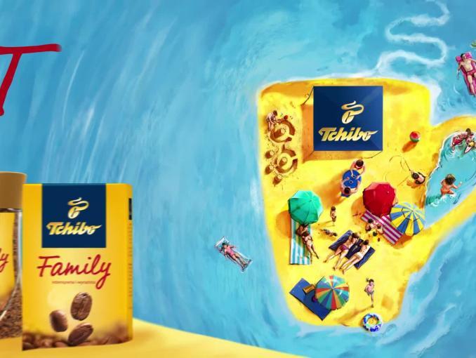 """""""Lato z Family"""" w reklamie kawy Tchibo Family"""