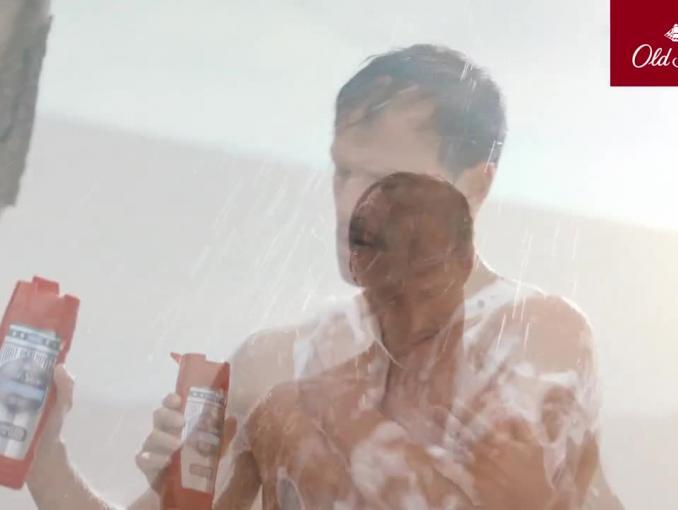 Żel pod prysznic Old Spice - reklama z Arkadiuszem Jakubikiem