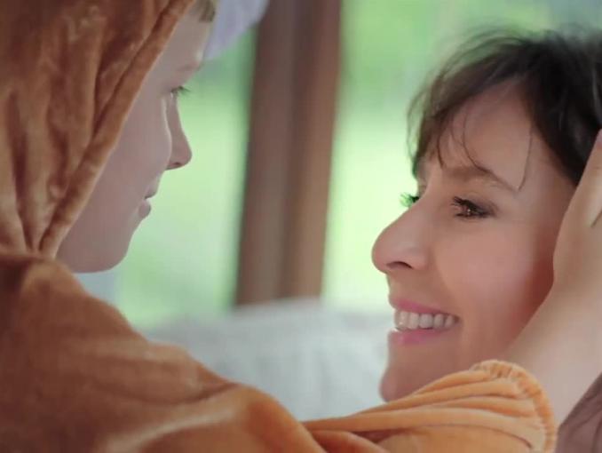 Anna Korcz reklamuje kosmetyki Bioliq 45+