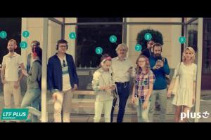 Szymon Majewski reklamuje testy internetu LTE Plus w Plusie