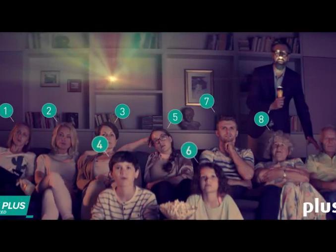Testy internetu LTE Plus w Plusie - spot z Szymonem Majewskim