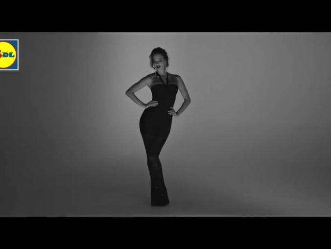 Esmara od Heidi Klum w Lidlu - reklama bielizny