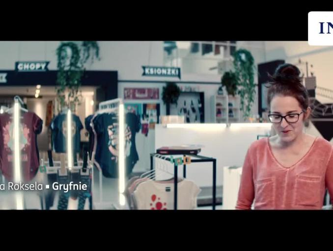 ING Bank Śląski reklamuje Firmowy Pakiet na Start