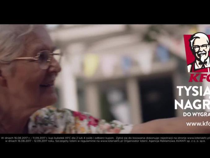 Reklama loterii na 60-lecie Kubełka KFC