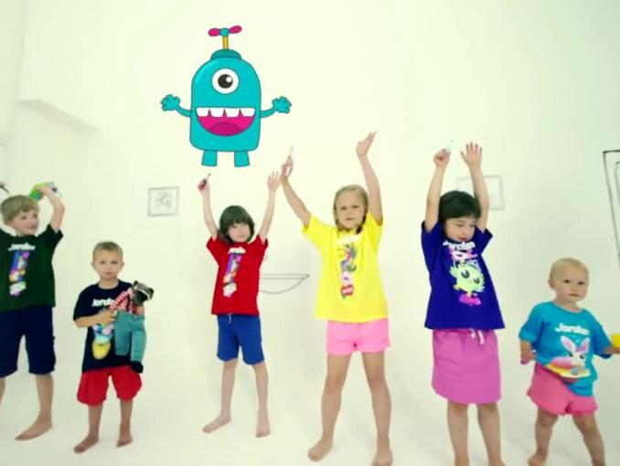 Piosenka dla dzieci o myciu zębów reklamuje szczoteczki Jordan