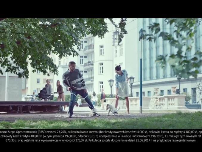 """""""My nie owijamy w bawełnę"""" - reklama kredytu w Credit Agricole Bank Polska"""