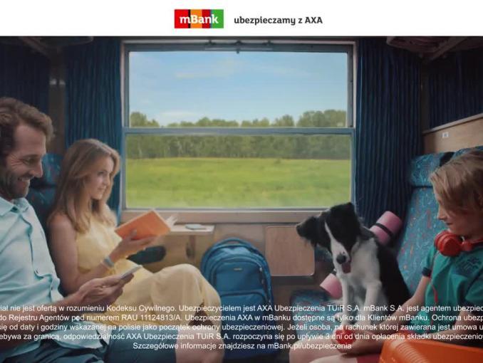 Ubezpieczamy z AXA - spot mBanku
